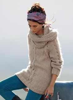 Bergere de France knitting pattern, love this.