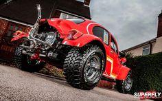 Best classic cars and more! Vw Beach, Beach Buggy, Volkswagen, Vw Baja Bug, Vw Engine, Sand Rail, Best Classic Cars, Vw Cars, Sweet Cars
