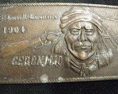 Vintage Geronimo Native American St Louis Mo by BeltBuckleQueen, $25.00