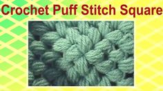 Puff Stitch Crochet Granny Square 5 Rounds