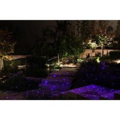 BlissLights, 16 in. Blue Laser Landscape Projector/Firefly Light with Transformer, Spright-BWT at The Home Depot - Mobile