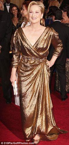 Meryl Streep - beautiful, age appropriat