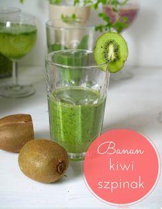 Koktajle owocowo-warzywne. Zdrowe przepisy na smoothie - towsrodku.pl Kiwi Smoothie, Kefir, Cantaloupe, Good Food, Lime, Fruit, Recipes, Limes, Healthy Food
