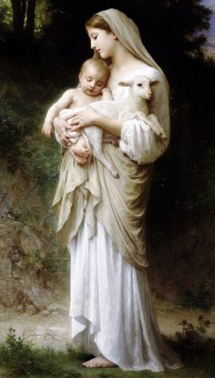 Innocence by William-Adolphe Bouguereau, 1893.