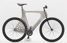 TU Delft creates a fully functional 3D-printed stainless steel bicycle using MX3D's multi axis robotic arm