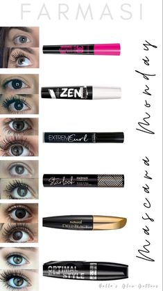 Drugstore Mascara, Best Mascara, Beauty Essentials, Beauty Hacks, Beauty Skin, Beauty Makeup, Makeup Boutique, Farmasi Cosmetics, Mascara Review