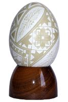 Pêssanka Bordada: Galeria Brown Eggs, Easter Egg Designs, Ukrainian Easter Eggs, Fancy, Sculpture, Decoration, Ideas, Eggs, Get Tan