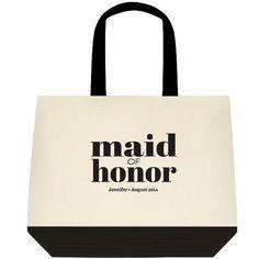 Black Mod MAID OF HONOR Gift Bridal Bride Gift by DigitalPrintsess, $20.00