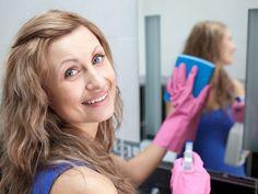 Limpar espelho