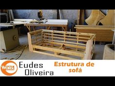 How to make a sofa - part 1 How To Make Sofa Bed, Wood Furniture, Outdoor Furniture, Outdoor Decor, Sofa Frame, Upholstery, Sweet Home, Diy, Interior Design