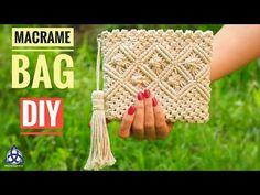 DIY Macrame Bag Tutorial - DIY macrame Wallet for Girls. In this easy Macrame tutorial, I'll show you How to Make Macrame Bag/ Wallet with Easy and Simple Wallet Tutorial, Bracelet Tutorial, Diy Tutorial, Macrame Purse, Macrame Knots, Magic Knot, Wallets For Girls, Micro Macramé, Diy Handbag