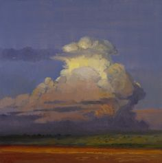 Peter Campbell - Sunset Clouds 20x20