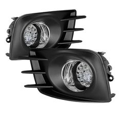 2011-2013 Scion TC LED Fog Lights with Switch - Clear
