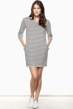 Striped Parisian Dress