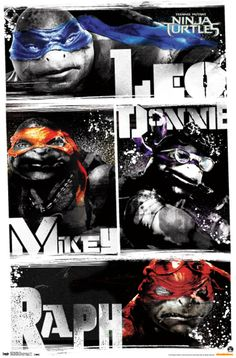 Although, I am a little scared that the movie is going to ruin TMNT, I still love this picture. Mikey is my spirit animal! Ha-ha!