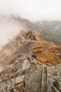 Kasprowy Wierch in the clouds  High Tatras, Poland