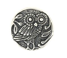 Arcadia Silver Grecian Coin Owl Ring. www.arcadiajewellery.com.au Owl Ring, Coins, Jewellery, Personalized Items, Silver, Jewels, Rooms, Schmuck, Jewelry Shop