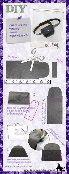 DIY belt bag: maak je eigen leren heuptas met onze DIY tutorial