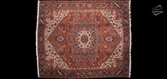 12x14 Persian Bakshaish Square Rug