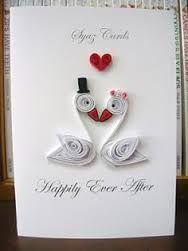 quilling kartki ślubne - Szukaj w Google