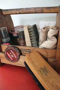 Perennial provisions: a well-stocked shoe shine kit