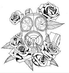 gas mask tattoo designs - Google Search   tattoos   Pinterest