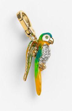 Juicy Couture Parrot Charm