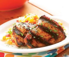 Grilled Tandoori-Style Chicken Thighs Recipe
