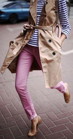 Hash Denim Boutique Pink Skinny Jeans by Tina Sizonova