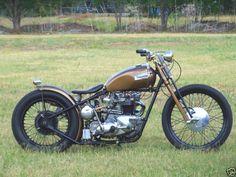 Custom Bonneville t120r