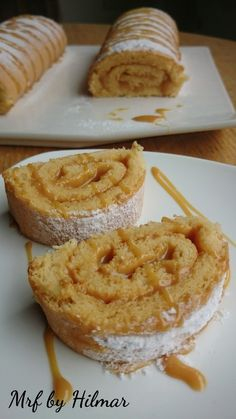 Mis recetas favoritas: Brazo de gitano con dulce de leche. #PostresParaFiestas