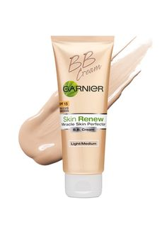 Multitasking BB creams, such as Garnier BB Cream Miracle Skin Perfector, even out skin tone and soothe inflammation.