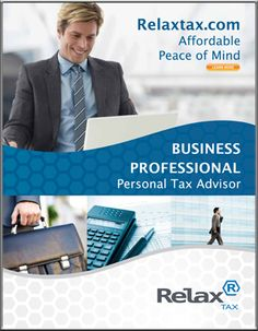 Relax Tax really helped me to do my taxes this year... and I HATE doing my taxes! https://s3.amazonaws.com/relaxtax/advisor/businesspro/pinterest.pdf