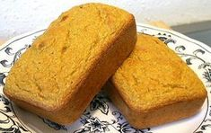 Low Carb Pumpkin Pound Cake - Excellent and has a very nice, moist texture! - with liquid Splenda, 2g Net Carbs per serving / Linda's Low Carb Menus & Recipes