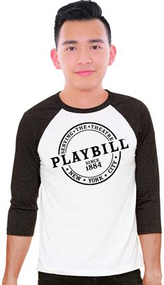 e815cec17 Our new Playbill baseball T-shirt debuted at BroadwayCon and were an  instant hit.
