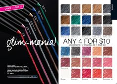 It's back, #Avon Glimmersticks are 4 for $10! this sale includes #Eyeliners & #Lipliners. I'm thinking I need to stock up because I can not live with out mine! If you need to stock up like me visit My Estore https://dporter1378.avonrepresentative.com