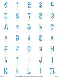 Hocus Pocus Alphabet Embroidery Design