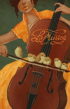 La Musica by ~kelseymichele on deviantART