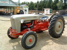 1953 Ford Tractor Naa Service Shop Manual Ford Tractors