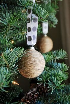 Jute Twine Ornaments