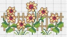 Counted Cross Stitch Patterns, Cross Stitch Charts, Cross Stitch Embroidery, Cross Stitch Rose, Cross Stitch Flowers, Plastic Canvas Crafts, Loom Beading, Crafts To Make, Floral