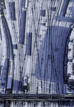Main Railway Line, Munich (via Aerial Photography)