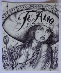 17 Best images about Arte Mexica. Chicano Love, Art Chicano, Chicano Drawings, Chicano Tattoos, Art Drawings, Gangster Tattoos, Arte Cholo, Cholo Art, Mr Cartoon Tattoo