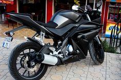 Yamaha YZF R125 Yamaha Yzf R, Yamaha Motorcycles, Vintage Motorcycles, Custom Motorcycles, Custom Bikes, Cars And Motorcycles, Motorcycle Design, Motorcycle Gear, Biker Movies