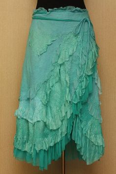 Check out the deal on A Spoondrift Birth / Nuno-Felted Clothing / Skirt at Eco First Art