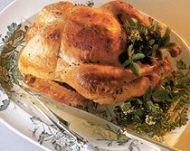 Roast Christmas Turkey or Chicken with Gravy recipe