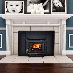 Vogelzang Colonial Wood Burning Fireplace Insert