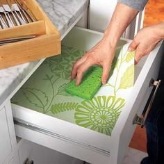 Photo: Wendell T. Webber | thisoldhouse.com | from 10 Uses for Wallpaper Scraps