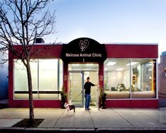 Congrats to Melrose Animal Clinic in Melrose Mass for winning the People's Choice Award!!! -  by Animal Arts Design Studios