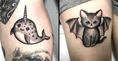 If you thought animal tattoos couldn't get any cuter you thought wrong.
